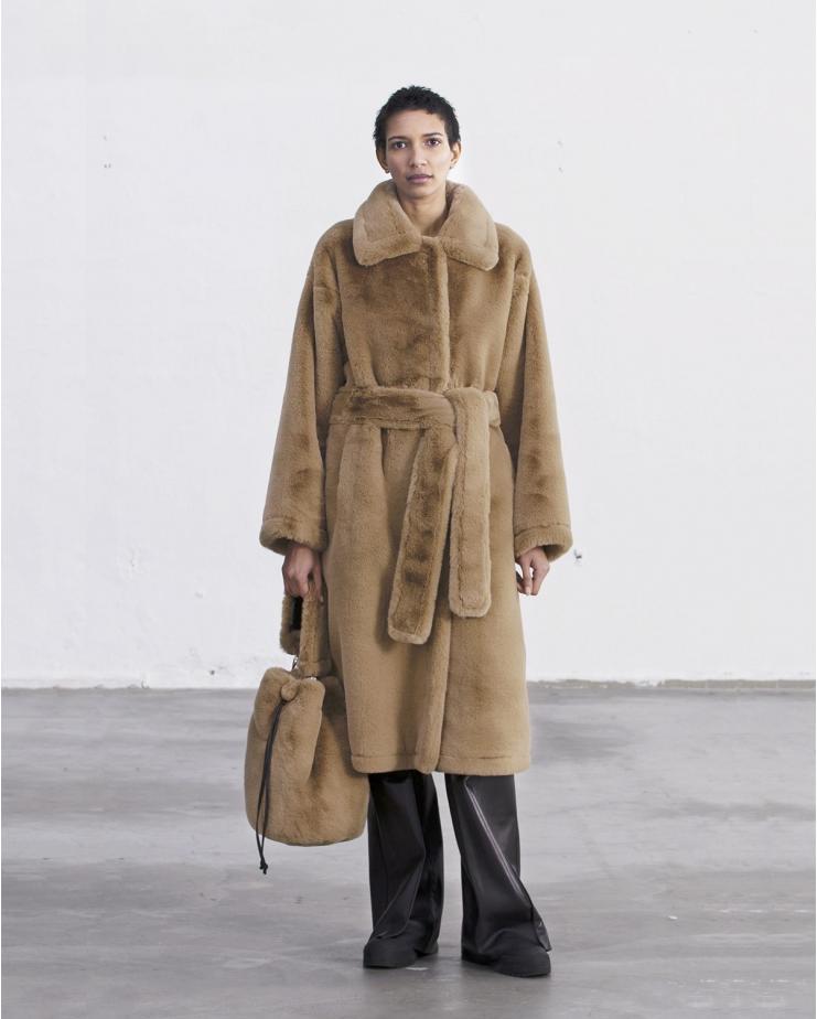 Alexis Coat Camel