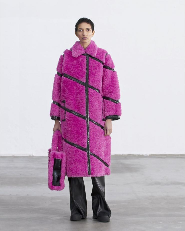 Cleo Coat Pink