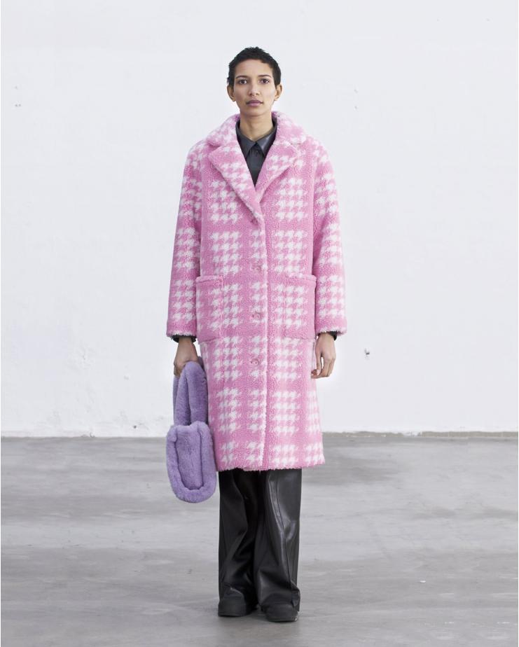 Emilia Coat Bubblegum Pink