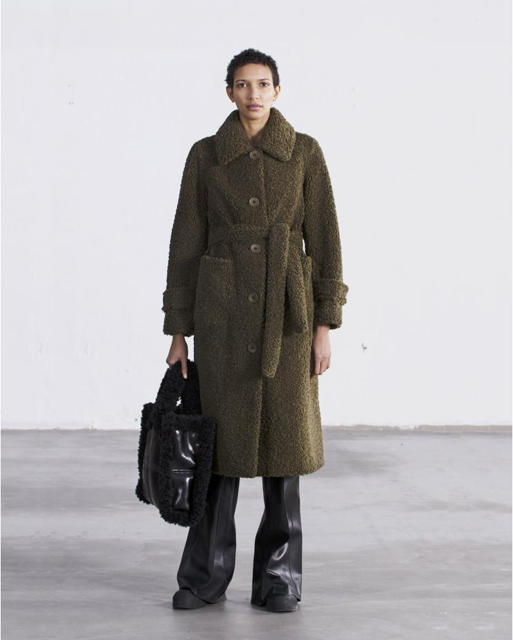 Lottie Coat Army Green