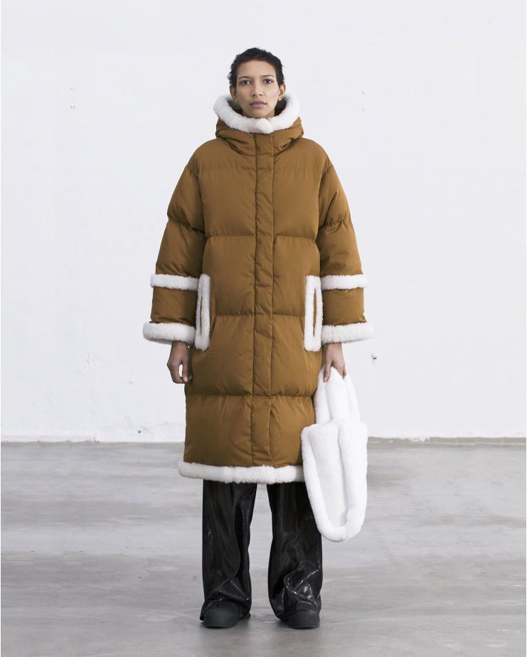 Frederica Coat Rust