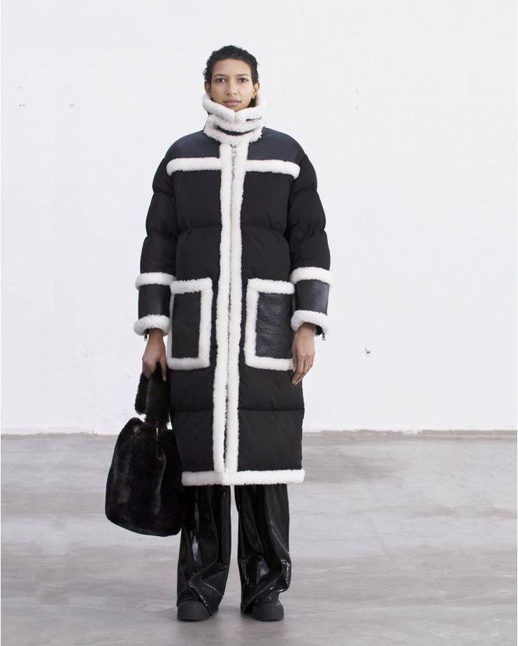 Vicky Coat Black
