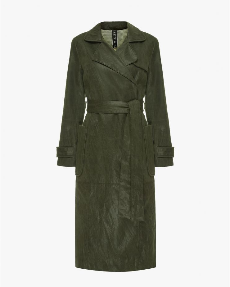 Green Trench Coat