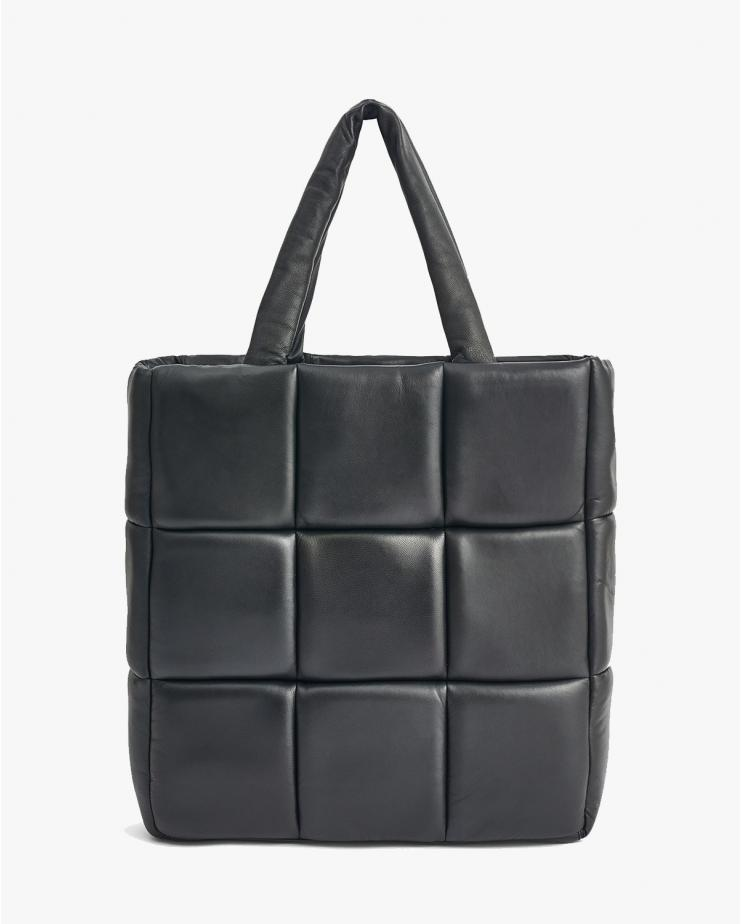 Assante Leather Bag in Black