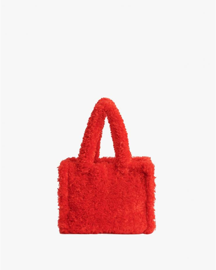 Liz Bag Curly Red