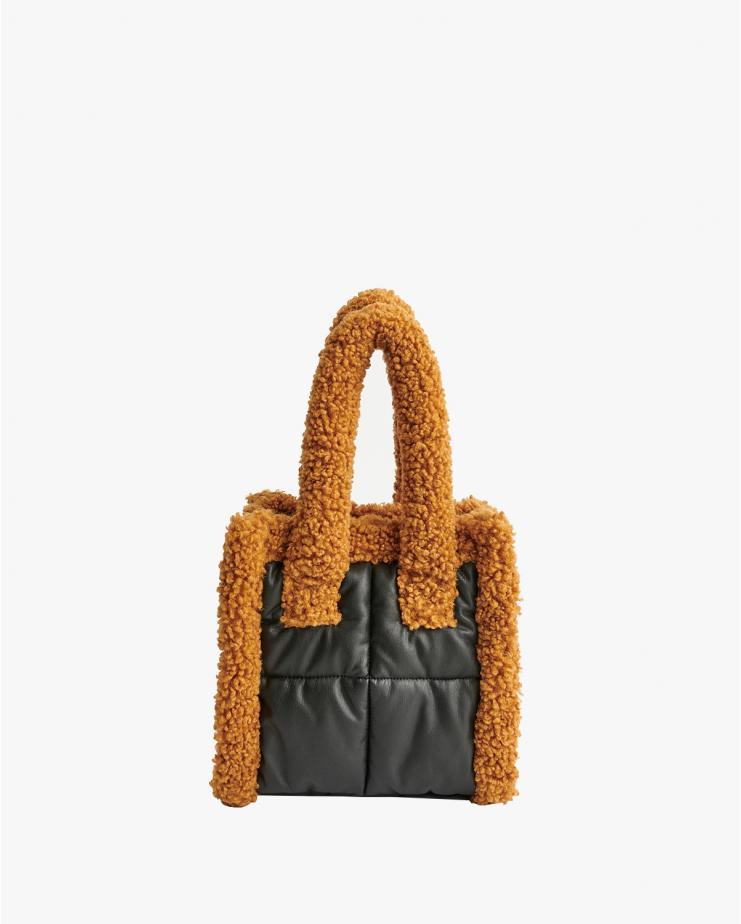 Liz Quilt Bag Black & Nougat