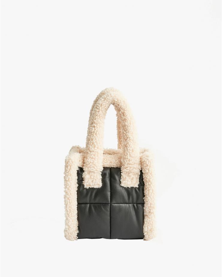 Liz Bag Quilt Black & White