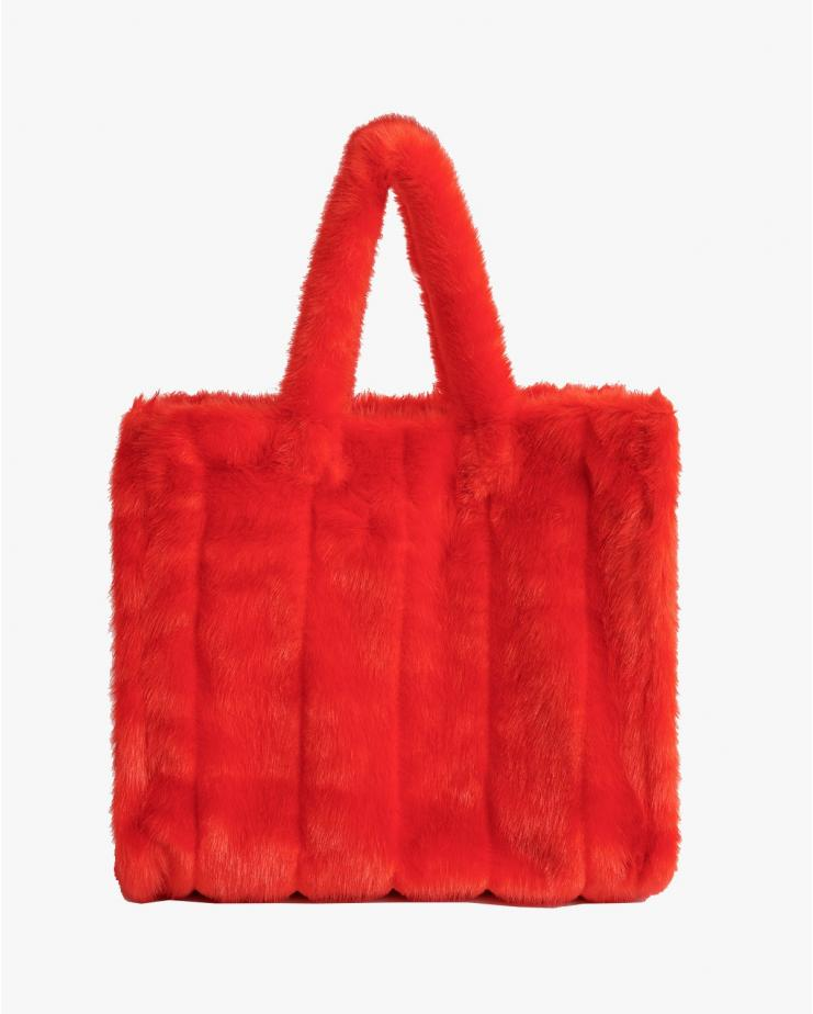 Lola Bag Stripes Red