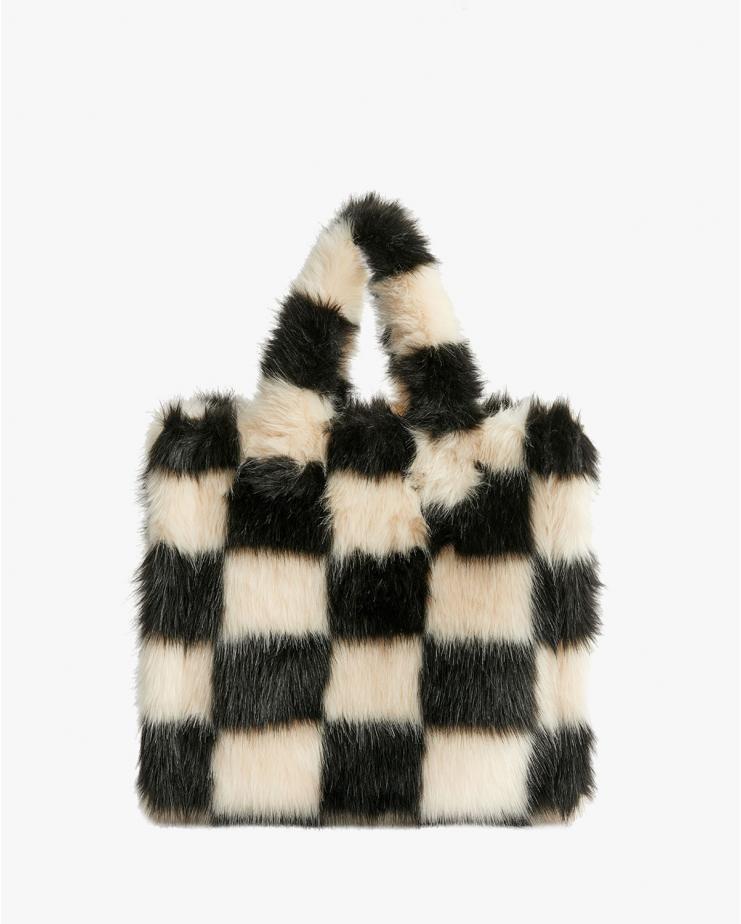Lolita Bag Check Black & White