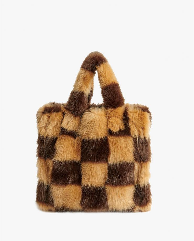 Lolita Bag Check Brown & Camel