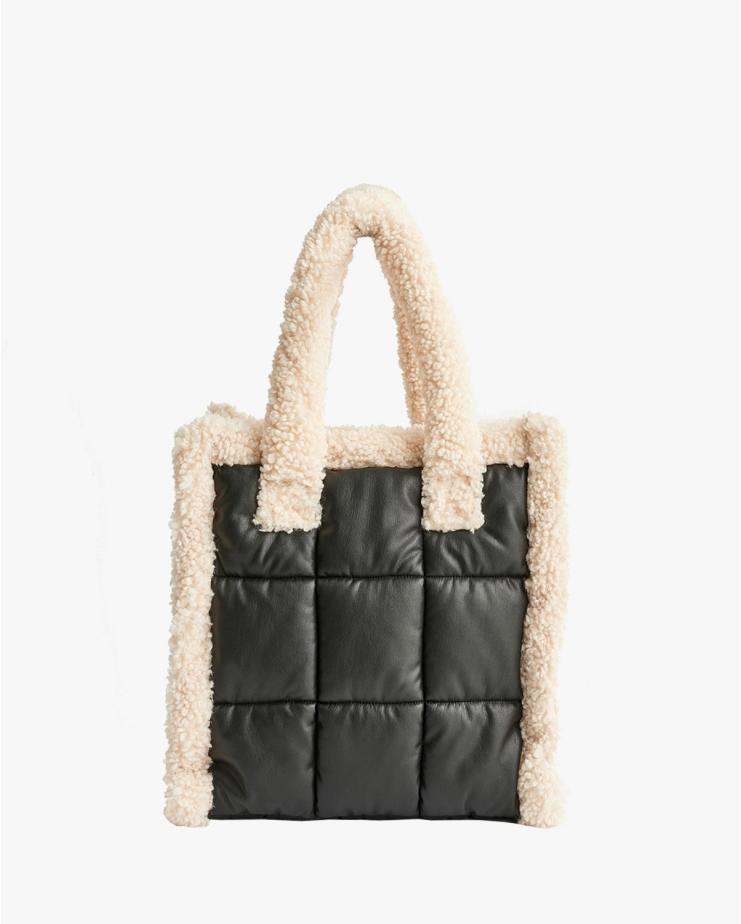 Lolita Bag Quilt Black & White