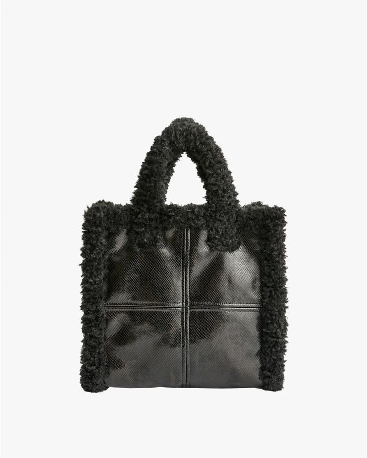 Lolita Shearling Bag Black...