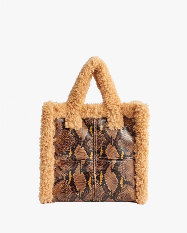 Lolita Shearling Bag Brown...