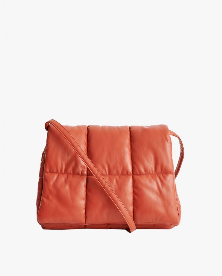 Wanda Clutch Bag Rust