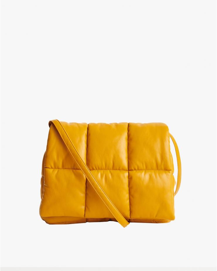Wanda Clutch Bag Yellow