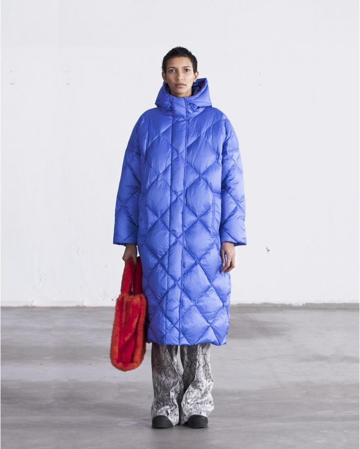 Farrah Coat Cobalt Blue