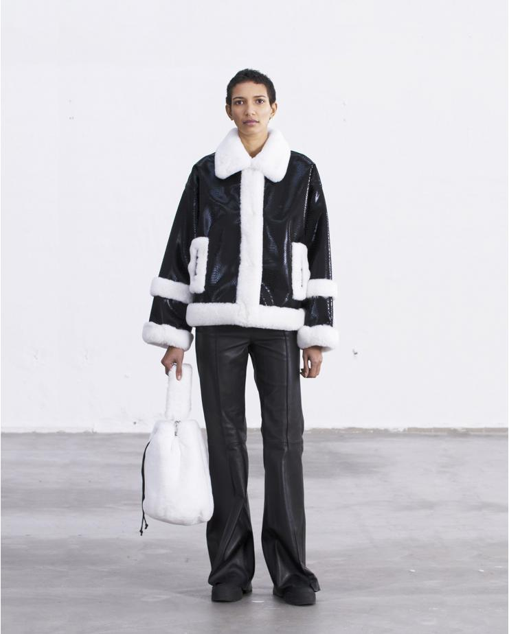 Hester Jacket Black & White