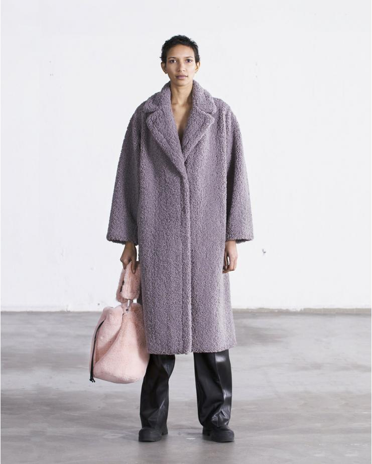 Maria Coat Grey