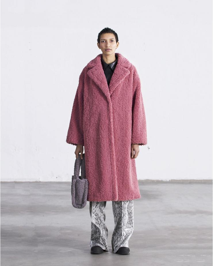 Maria Coat Pink