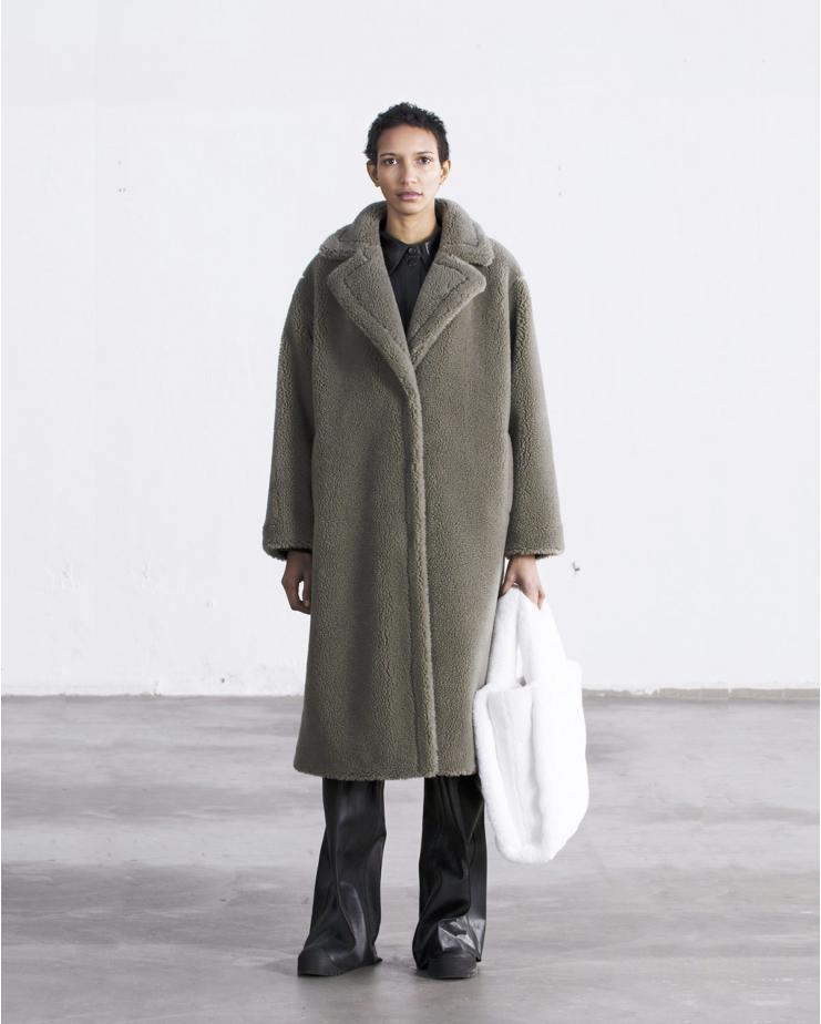 Maria Coat Green