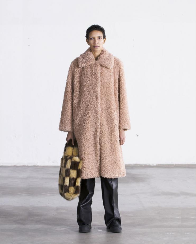 Maxine Coat Pink