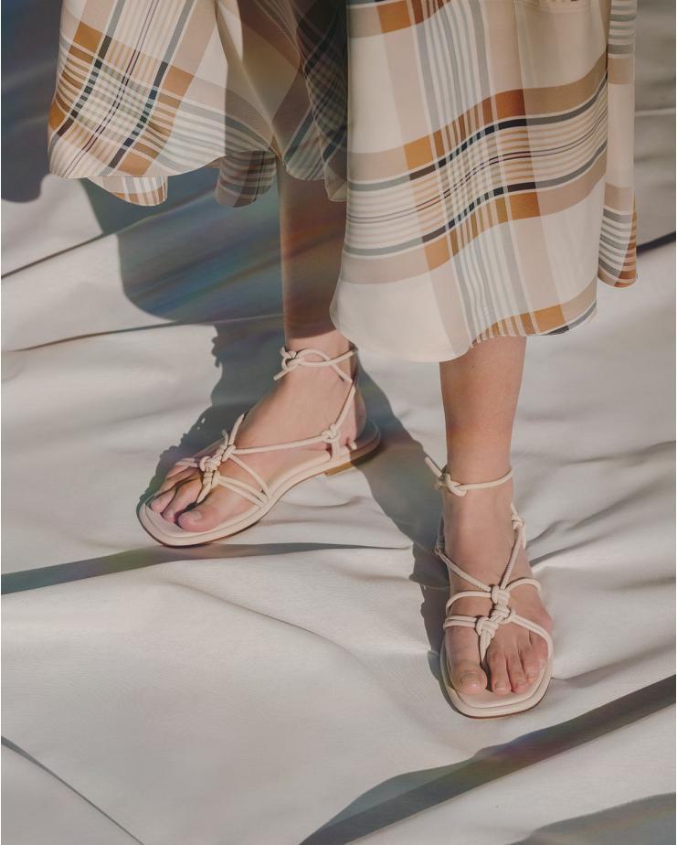 Fermada Sandals in Stone