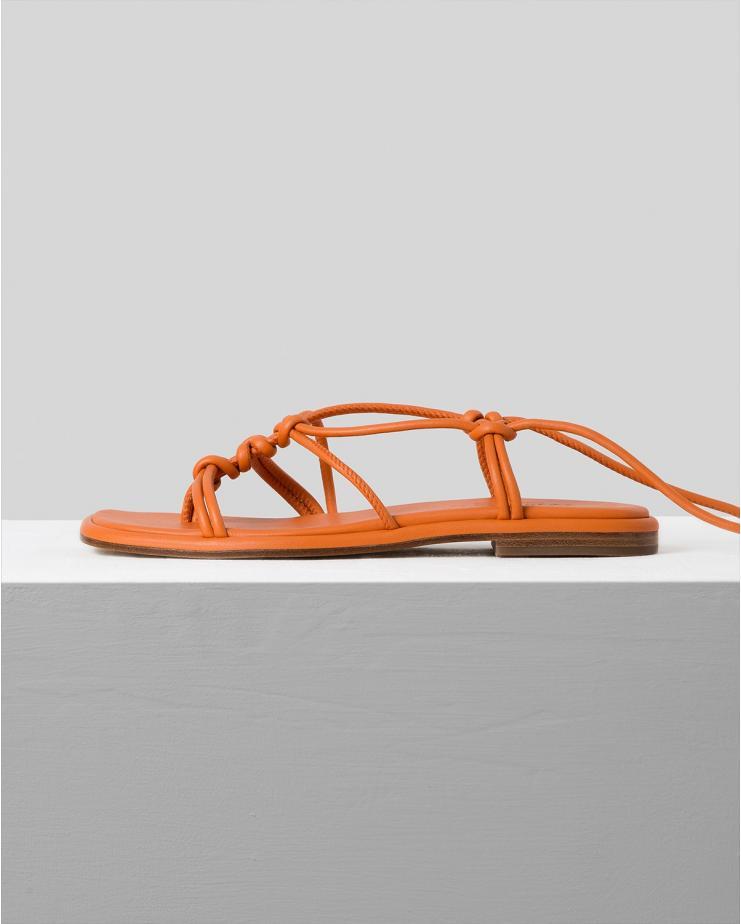 Fermada Sandals in Tangerine
