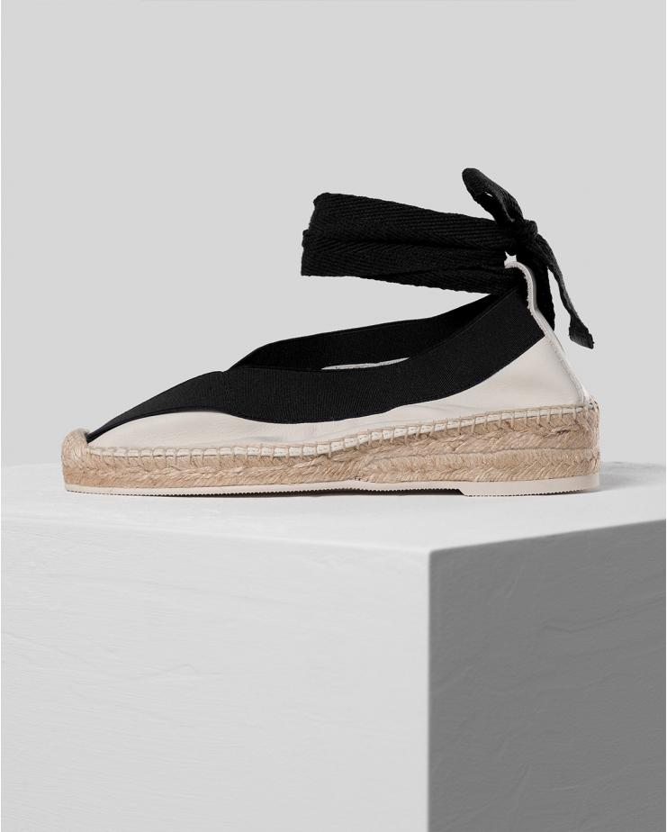 Horta Espadrilles in Off White