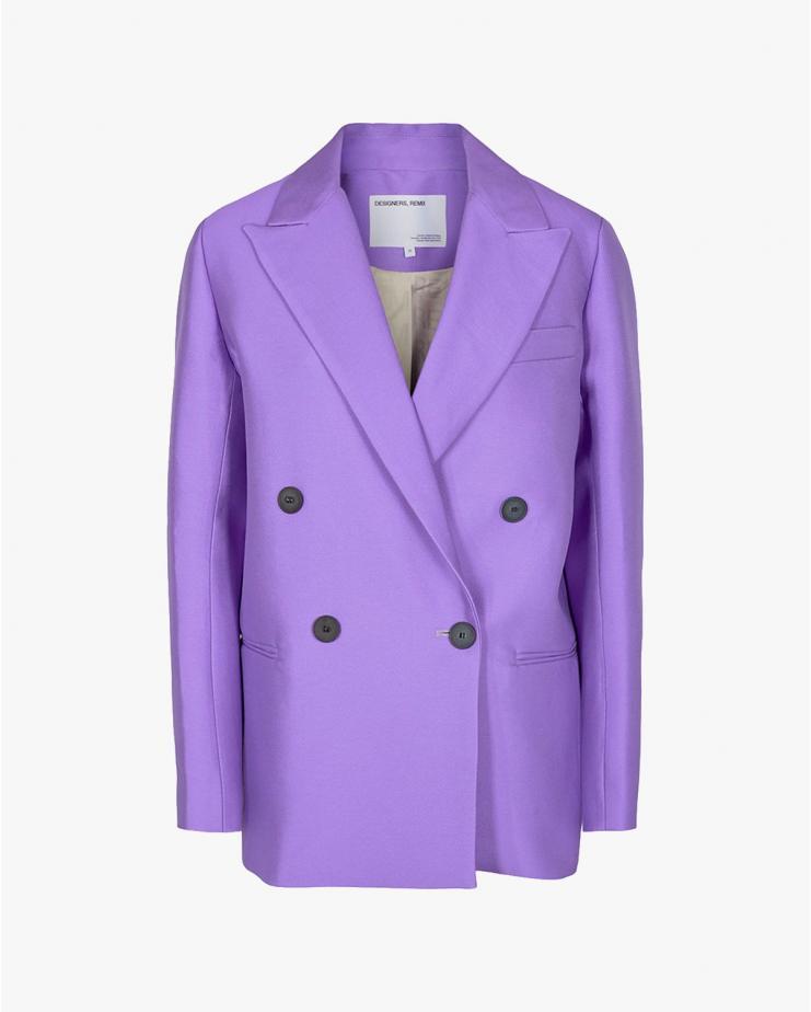 Hailey Blazer Purple